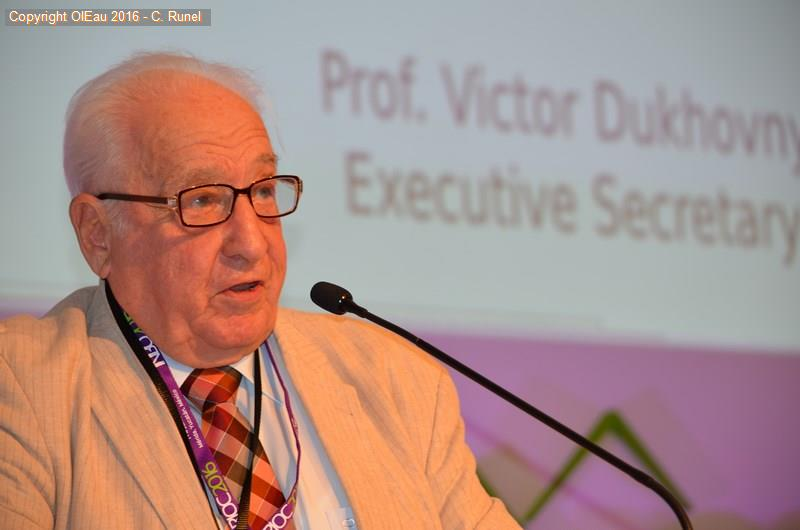 Professor Dukhovny at the 10th World General Assembly of INBO - Merida (Mexico) - June 2016